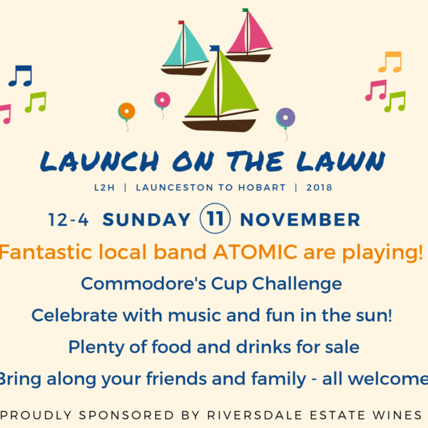 Bigger & Better Launch on the Lawn..