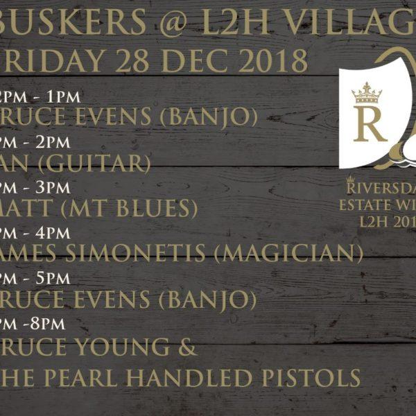 Buskers @ L2H Village