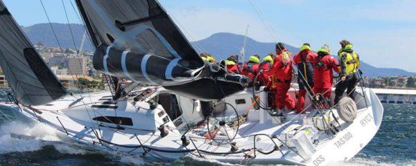 64 knot gust hits leaders at Tasman Island