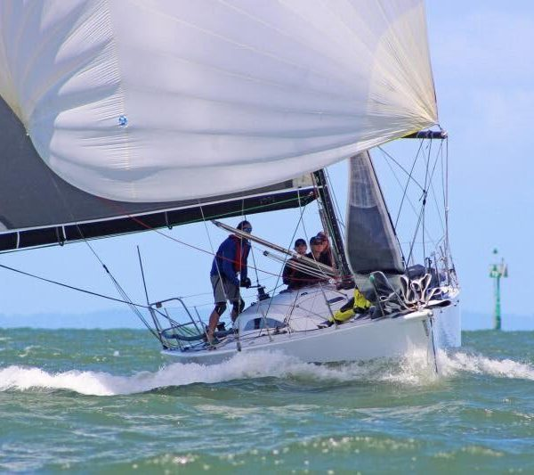Vertigo finalises tactics for the L2H Yacht Race